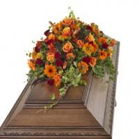 Blomster til kisten